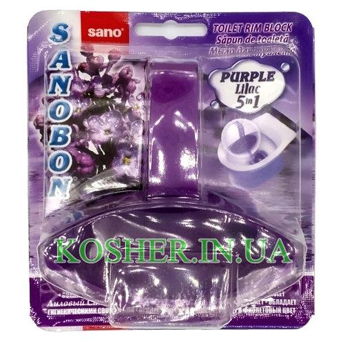 Блок для Туалета SANOBON Purple Lilac, Sano, 55г