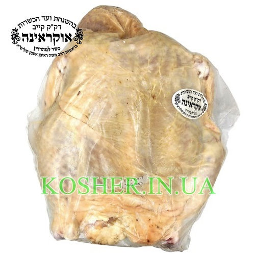 Курица (тушка) кошер в/у, Бродский, кг