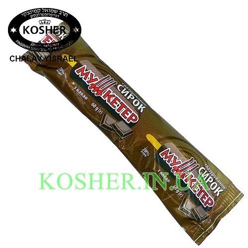 Сырок кошерный Кофейный в Шоколаде на палочке  20%, Мушкетер, 60г