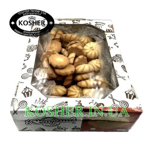 Печенье кошерное песочное Курабье, Конфетти, экран 1кг