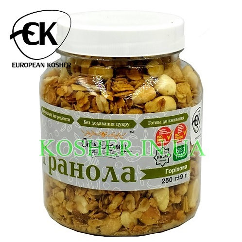 Гранола кошерная Ореховая, Oats&Honey, 250г