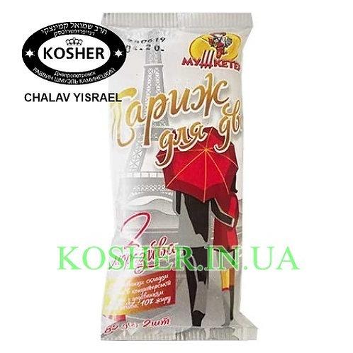 Мороженое кошер  Париж на палочке в шоколаде, Мушкетер,70г/ גלידת פלומביר קקאו