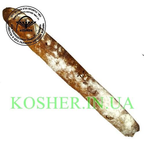 Багет кошерный темный с орехами и изюмом, Розмарин, 280г /בגט עם אגוזים וצימוקים