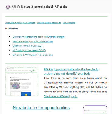Read MLD Newsletters