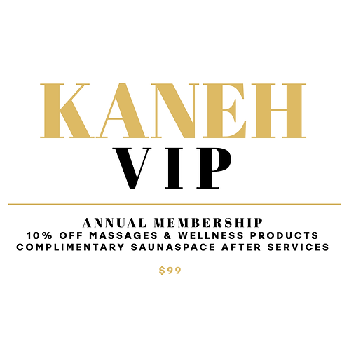 KANEH VIP Annual Membership