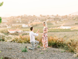 Evan + Rachels Engagement | Temecula Wine Country