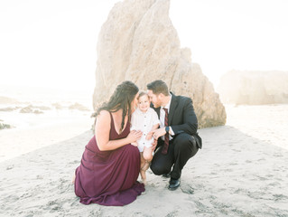 Reid's Family Session | Malibu, CA