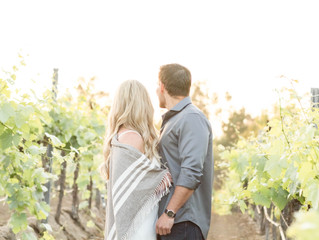 Stephen and Jordanne's Engagement | Temecula Wine Country