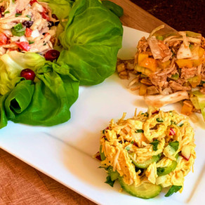 Chicken Salad 3 Ways