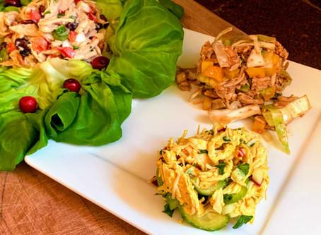 Chicken Salad 3 Ways