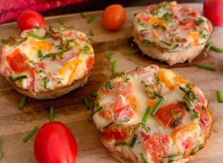 Easy Egg White Muffins