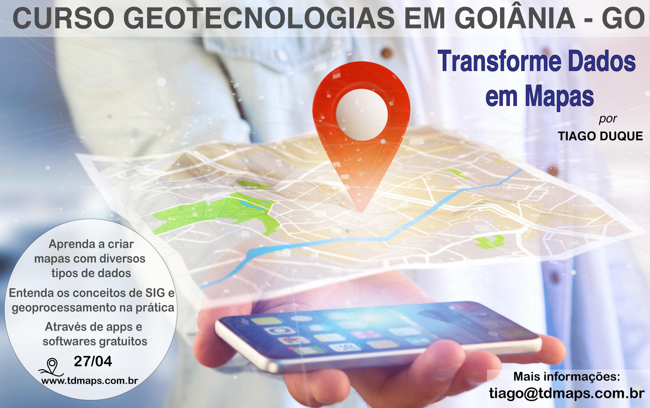 Transforme Dados em Mapas