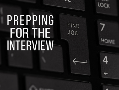 Interview Series, Pt 2: Entering the Interview (7 Tips)