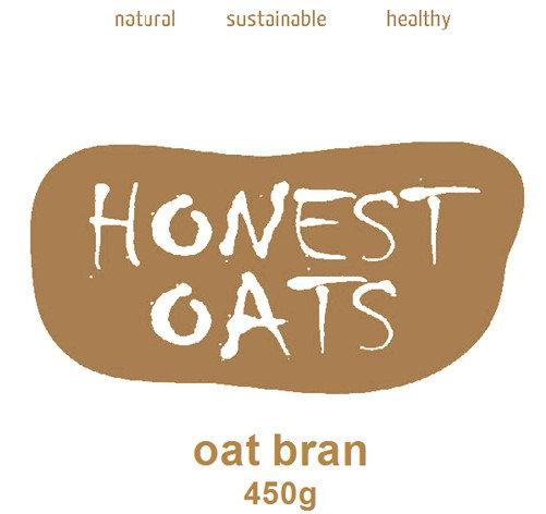 Organic Gluten Free Oat Bran 450g