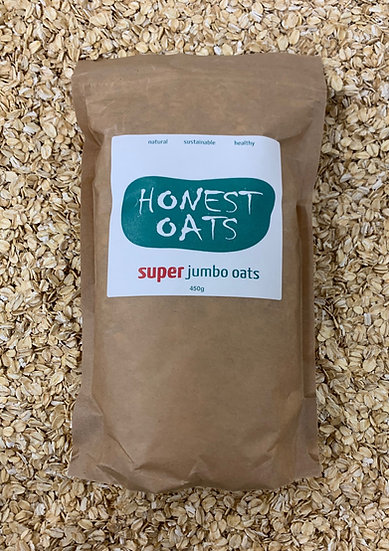 Super Jumbo Organic Gluten Free Oats 1kg