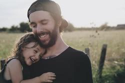 fille et papa