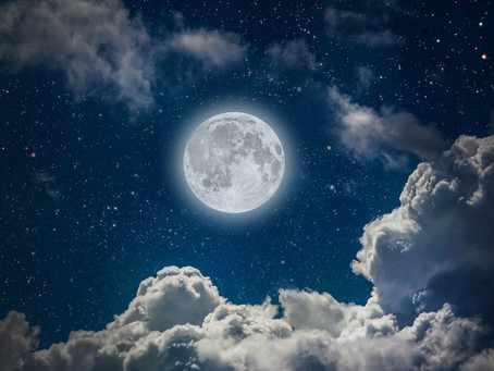 Super Full Moon, Amplified Energy