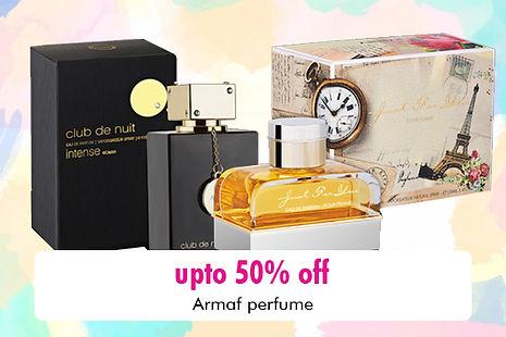 Armaf Perfume Banner