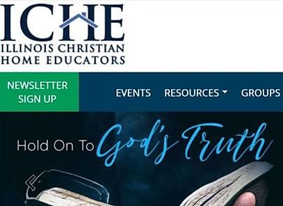 Illinois Christian Home Educators Website