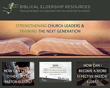 Biblical Eldership website