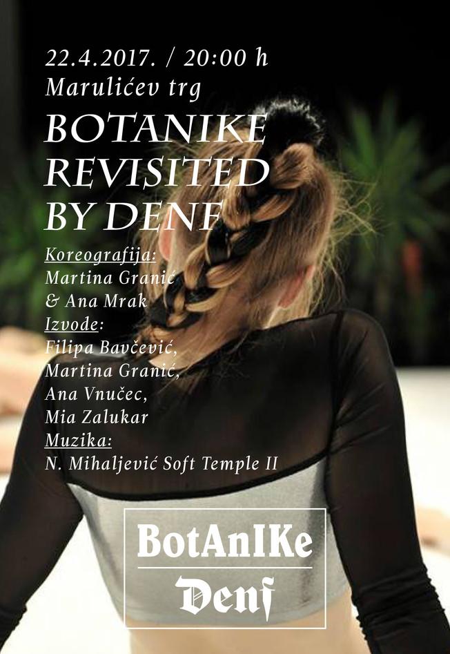 BOTANIKE REVISITED BY DENF