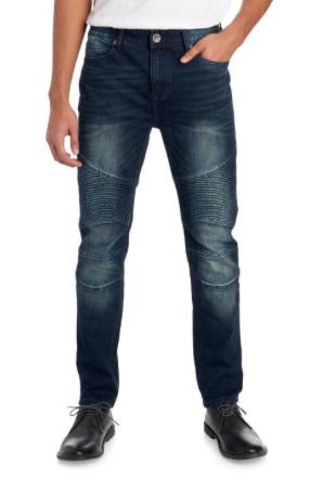 SEVEN7 Basalt Moto Denim Jeans