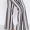 Thumbnail: FLARED SCUBA PANTS WITH STRIPE PRINT