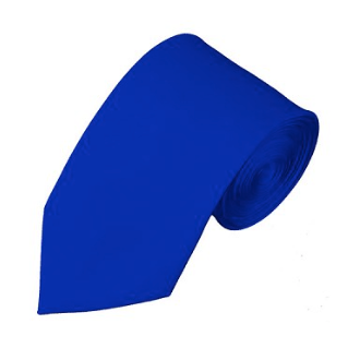 SL-36 | SOLID ROYAL BLUE SLIM TIE FOR MEN