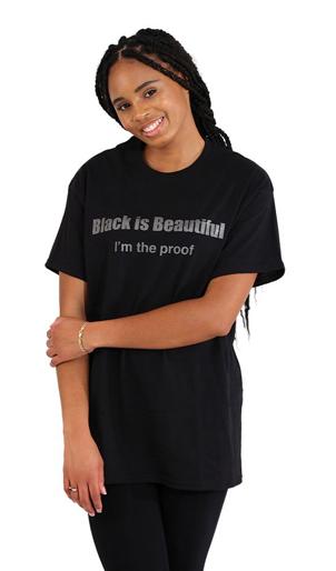 Black Is Beautiful I'm The Proof T-Shirt