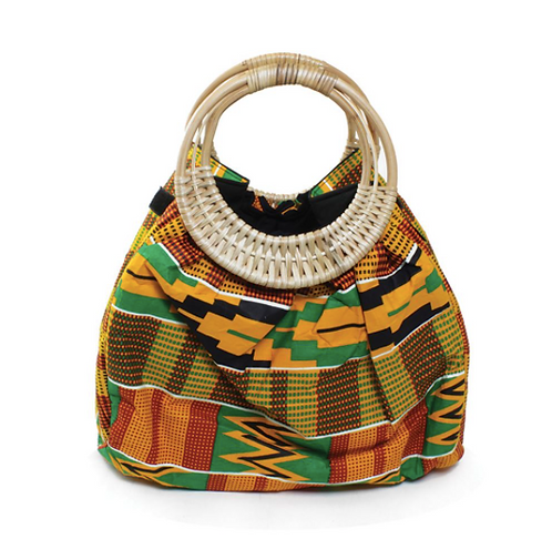 Colors Of Ghana Kente Purse