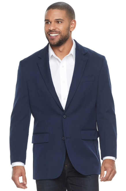 Men's Croft & Barrow® Classic-Fit Essential Sport Coat