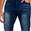 Thumbnail: TRUE LUCK JEANS Bloome Moto Skinny Fit Jeans