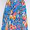 Thumbnail: FLORAL PRINT MAXI SKIRT WITH FRONT SLITS