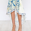Thumbnail: OFF-THE-SHOULDER FLORAL WRAP DRESS WITH RUCHED UPPER