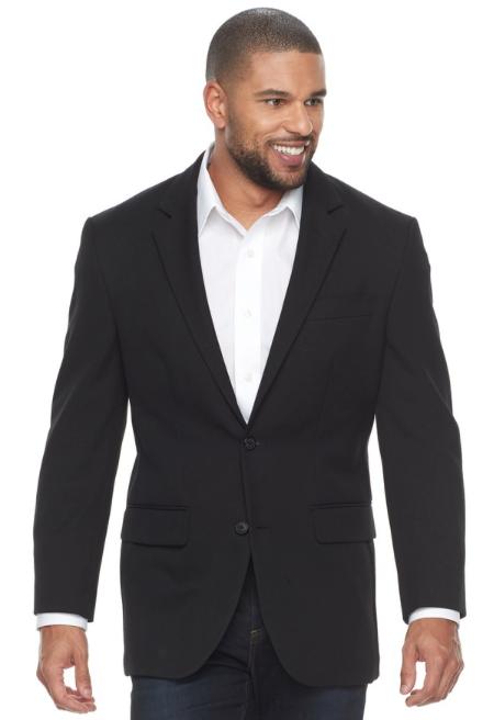 Men's Croft & Barrow® Classic-Fit Essential Sport Coat