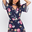 Thumbnail: PEEP HOLE ROMPER WITH FLORAL PRINT