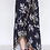 Thumbnail: WRAP MAXI SKIRT WITH LEAF PRINT AND RUFFLED HEM