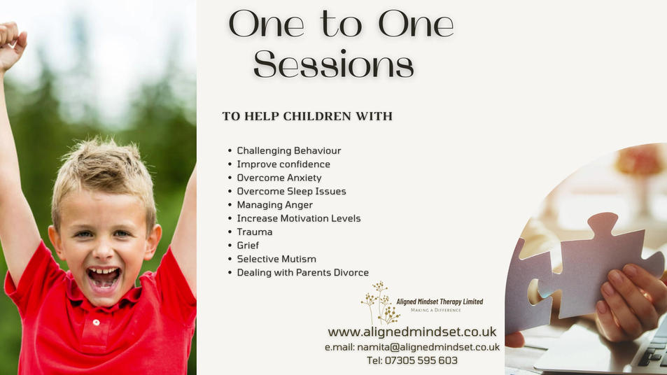 One to One Sessions for Children