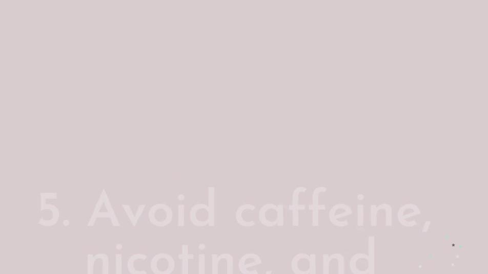 Tips to overcome insomnia