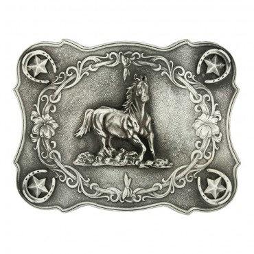 Westernová přezka na opasek MSS - kůň