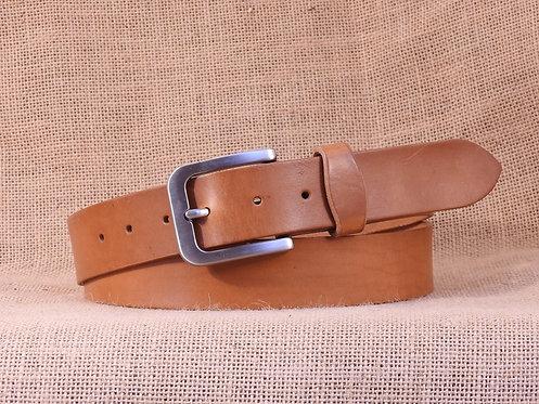 Kožený opasek, hladký č.7, šířka 3,8 cm