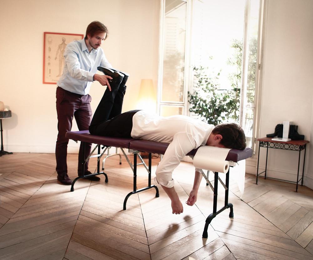 chiropracteur paris correction bassin jambe courte