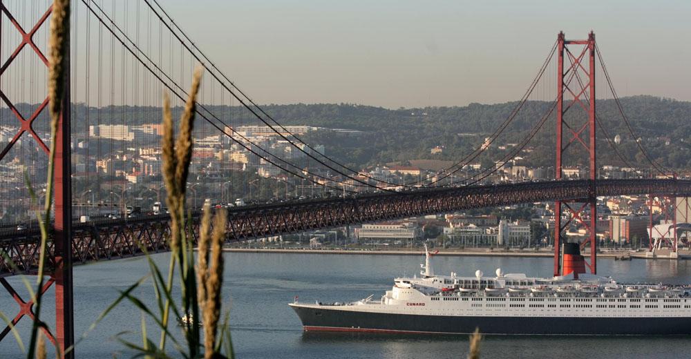 Ponte 25 de Abril e Rio Tejo