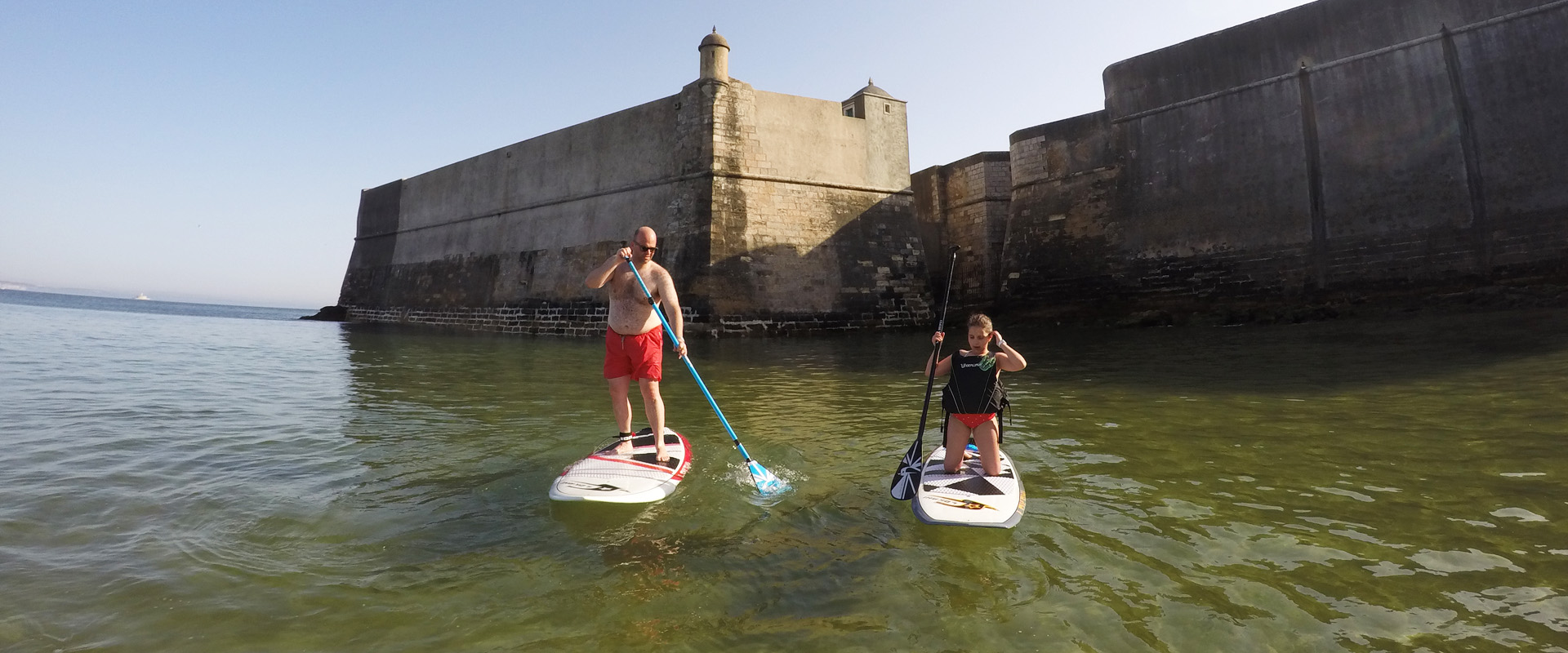 Stand Up Paddle lessons in Lisbon