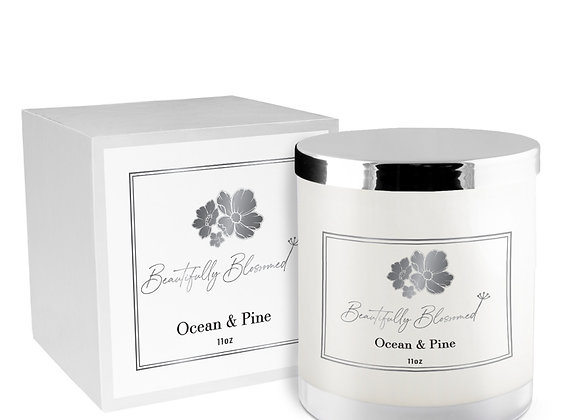 Ocean & Pine Luxury Candle Box