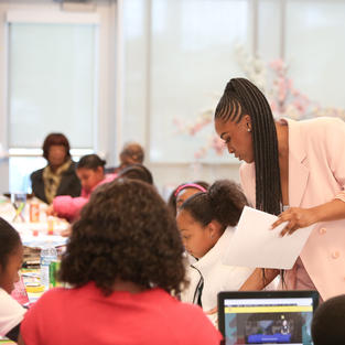 Vision Board Event Hosted by Perfectly Packaged You at the Michelle Obama Library