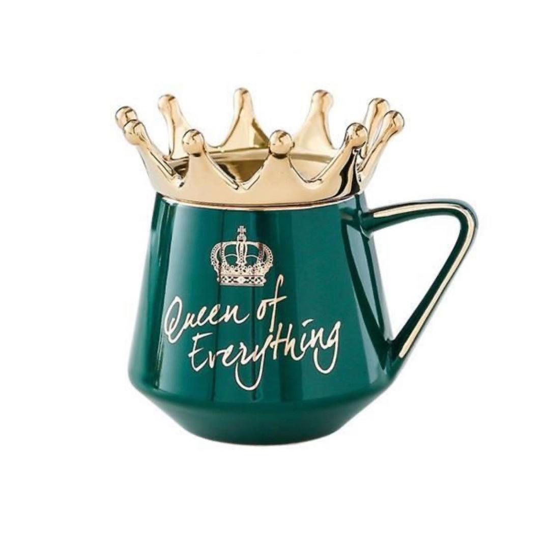 Queen Mug (green)