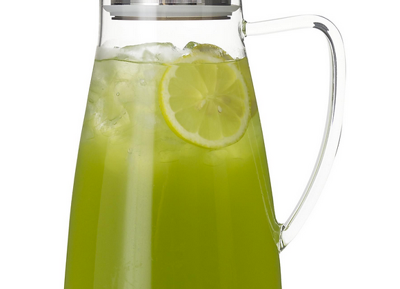 Flask Glass Iced Tea Jug 64 oz.