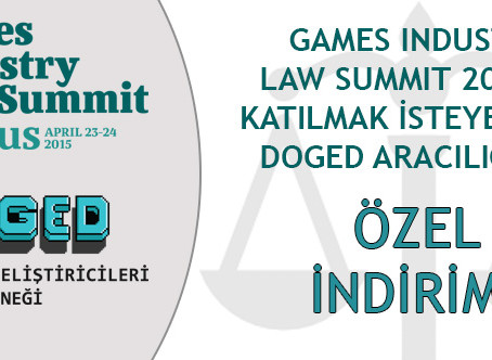 Games Industry Law Summit 2015′ e Siz de Katılmak İster Misiniz?