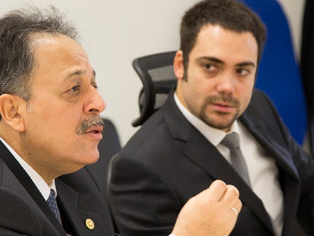 Sanayi, Ticaret, Enerji, Tabii Kaynaklar, Bilgi ve Teknoloji Komisyonu Başkanı Halil Mazıcıoğlu, DOG